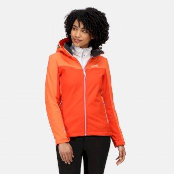 Women's Desoto VII Softshell Jacket Cajun Orange Tigerlilly Orange