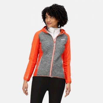 Women's Garn II Softshell Jacket Tigerlilly Orange Ash Cajun Orange