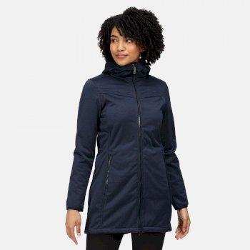 Women's Alerie II Softshell Jacket Navy Marl
