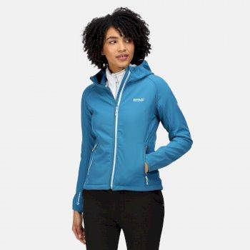 Women's Arec III Softshell Jacket Blue Sapphire