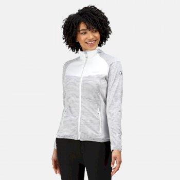 Women's Yare IV Softshell Jacket White Marl Cyberspace