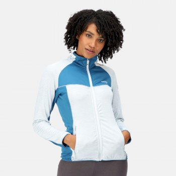 Women's Yare IV Softshell Jacket Ice Blue Blue Sapphire Dark Denim