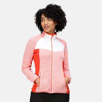 Women's Yare IV Softshell Jacket Tigerlilly Orange White Marl Cajun Orange