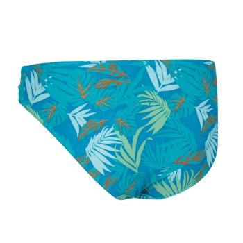 Women's Aceana Bikini Briefs Enamel Tropical Print