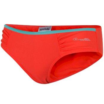 Women's Aceana Bikini Briefs - Neon Peach