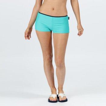 Women's Aceana Bikini Shorts Ceramic Blue