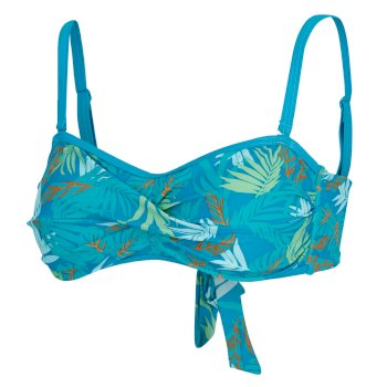 Women's Aceana II Bikini Top Enamel Tropical Print