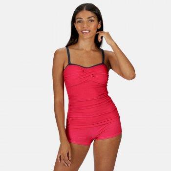 Women's Aceana II Tankini Top Virtual Pink