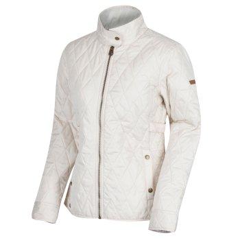 Camryn Quilted Jacket Light Vanilla