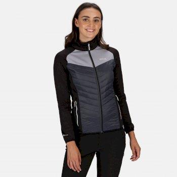 Women's Bestla Hybrid Lightweight Jacket Black Seal Grey