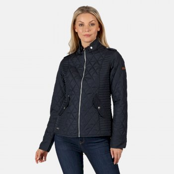 Women's Carita Lightweight Quilted Jacket Navy