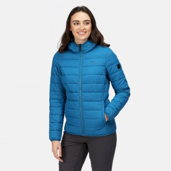 Women's Helfa Insulated Quilted Jacket Blue Sapphire