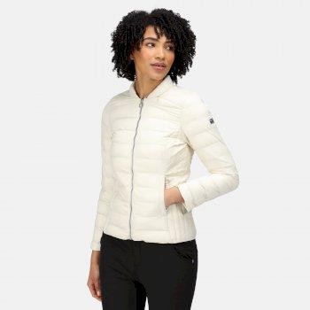 Women's Kylar Insulated Quilted Jacket Light Vanilla