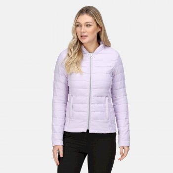 Women's Kylar Insulated Quilted Jacket Lilac Frost
