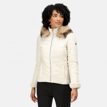 Rochelle Humes - Winslow Insulated Quilted Jacket Light Vanilla