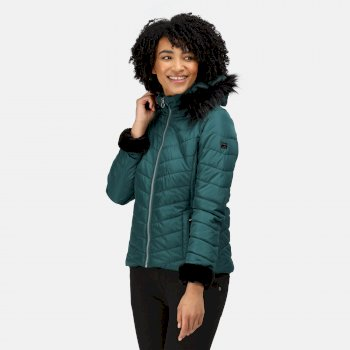 Women's Winslow Insulated Quilted Jacket Evergreen