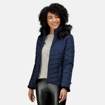 Women's Winslow Insulated Quilted Jacket Navy
