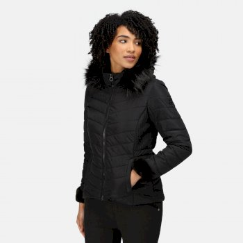 Women's Winslow Insulated Quilted Jacket Black