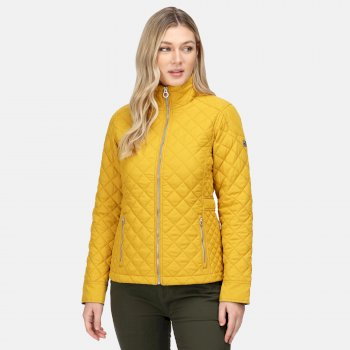 Women's Charleigh Quilted Insulated Jacket Mustard Seed