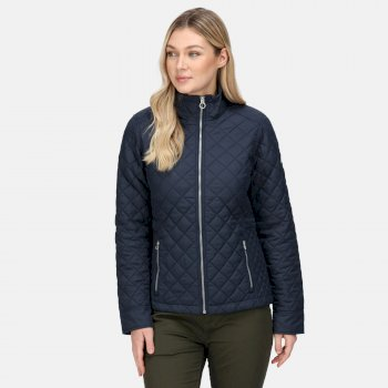 Women's Charleigh Quilted Insulated Jacket Navy