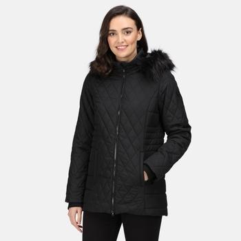 Women's Zalika Insulated Quilted Jacket Black