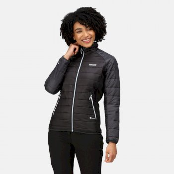 Women's Halton Insulated Quilted Jacket Black Ash