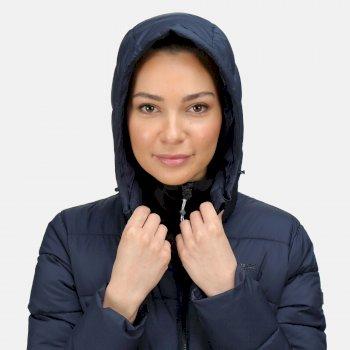 Women's Pandia Insulated Parka Jacket Navy