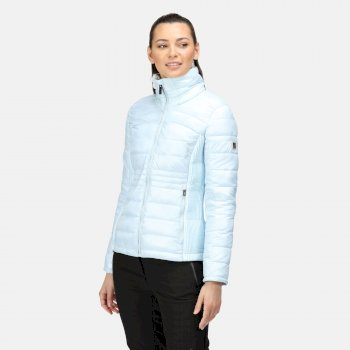 Women's Keava Insulated Quilted Jacket Ice Blue