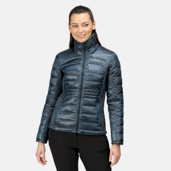Women's Keava Insulated Quilted Jacket Blue Sapphire