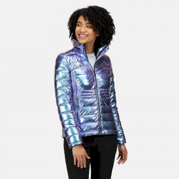 Women's Keava Insulated Quilted Jacket Iridescent