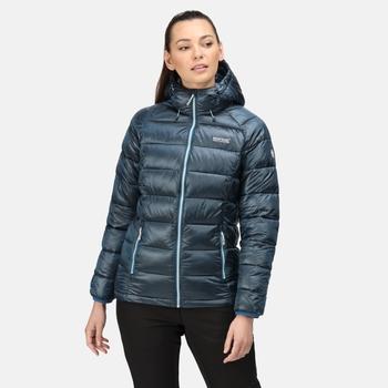Damska kurtka zimowa Toploft niebieska