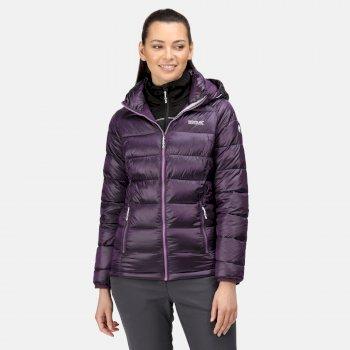 Women's Toploft Insulated Padded Jacket Dark Aubergine