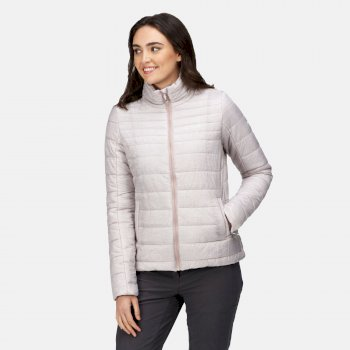 Women's Freezeway III Insulated Quilted Jacket Oatcake Marl