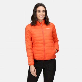 Women's Hillpack Insulated Quilted Jacket Tigerlilly Orange
