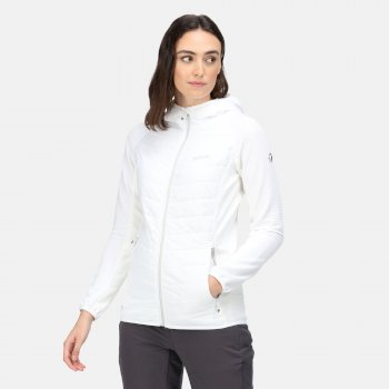 Women's Andreson VI Hybrid Insulated Quilted Jacket White