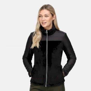 Damska kurtka ocieplana Reinette czarna