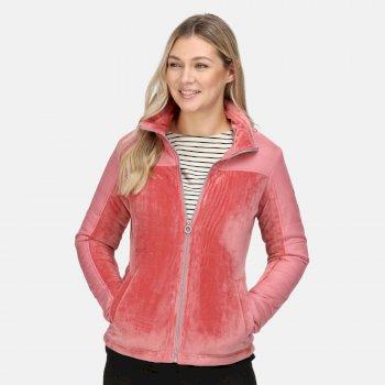 Damska kurtka ocieplana Reinette różowa