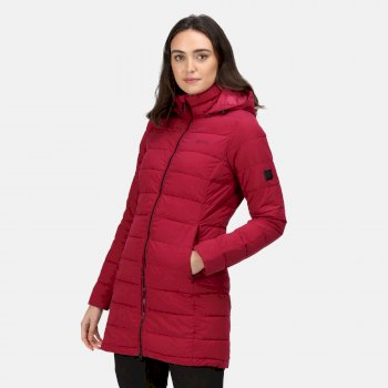 Women's Starler Insulated Padded Jacket Beetroot