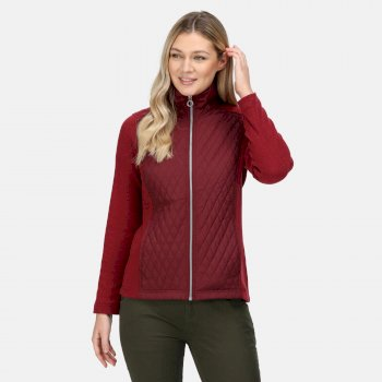 Women's Charlene Insulated Quilted Jacket Claret