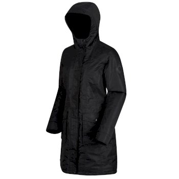 Roanstar II Breathable Waterproof Insulated Parka Jacket Black