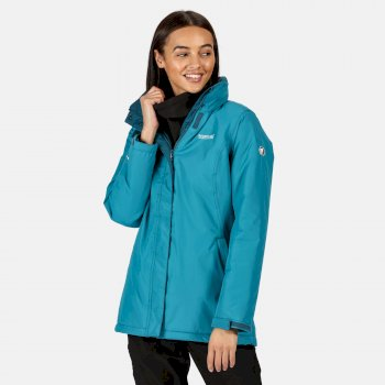 Women's Blanchet II Waterproof Insulated Jacket Ocean Depths