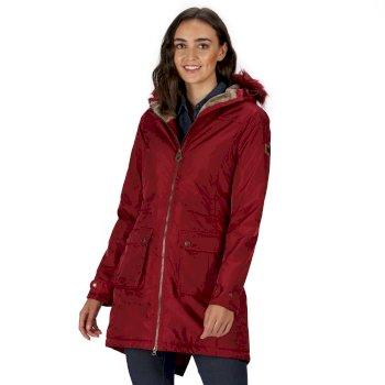 Lucasta Waterproof Insulated Jacket Rumba Red