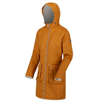 Women's Romina Waterproof Insulated Jacket Gold Cumin