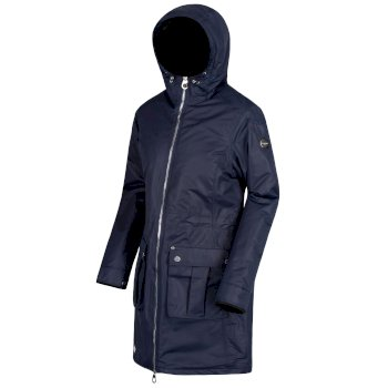 ade81546fa1 Romina Waterproof Insulated Jacket Navy