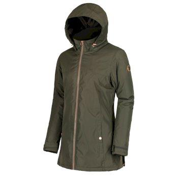 Mylee Waterproof Insulated Jacket Dark Khaki