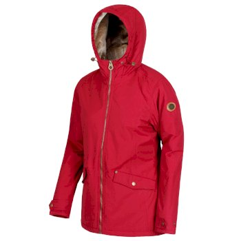 Women's Bergonia Waterproof Insulated Jacket Rumba Red