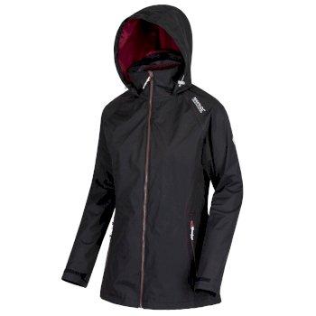 Women's Premilla II Waterproof 3 in 1 Jacket Black Fig