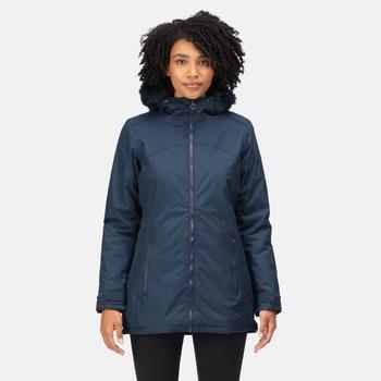 Women's Myla Waterproof Insulated Jacket Navy