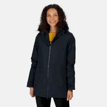 Women's Myla Waterproof Insulated Jacket Navy