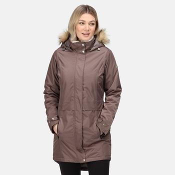 Women's Lexis Waterproof Insulated Parka Jacket Coconut
